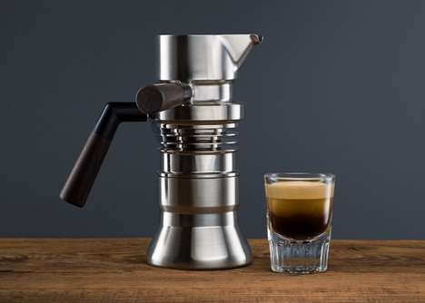 Jet-Engineered Espresso Makers