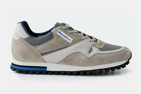 Long-Distance Training Sneakers - ZDA Marathon Trainers from Huckberry Offer a Classic 1950s Design