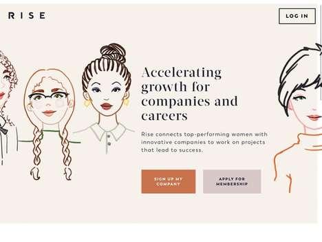 Female-Focused Job Platforms