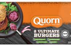 Ultra-Easy Vegan Burgers - The Quorn Ultimate Burger Makes Reducing Meat Consumption Simpler