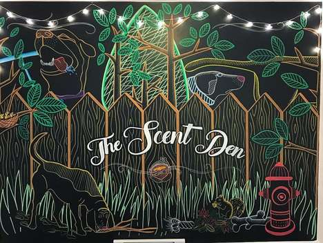 Dog-Friendly Sensory Spaces - 'The Scent Den' in Toronto Provides an Enriching Experience for Dogs