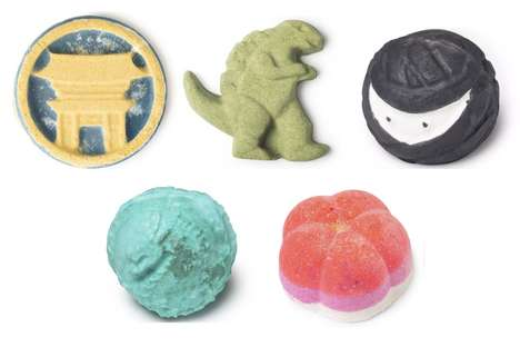 Exclusive Japan-Celebrating Bath Bombs