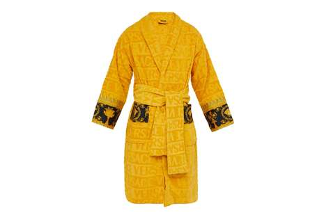 Luxurious Monogram Branded Bathrobes