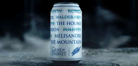Intentionally Brandless Campaigns - This Mountain Dew Campaign Cues Inspiration from Game of Thrones