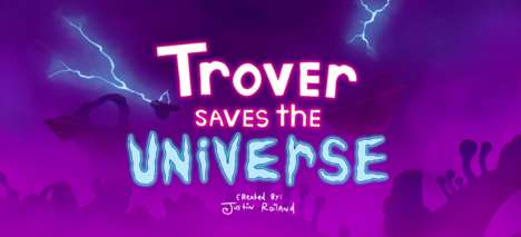 Show-Inspired Vulgar Video Games - Trover Saves the Universe is an Immersive Rick and Morty Game