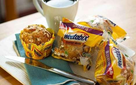 Fiber-Rich Prepackaged Muffins