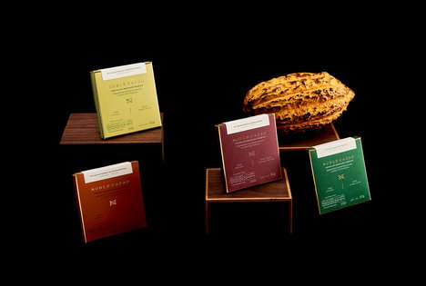 Gourmet Mexican Chocolate Packaging