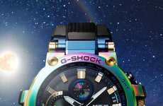 Rainbow Tinted Chunky Watches