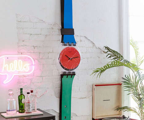 Oversized Watch Brand Clocks