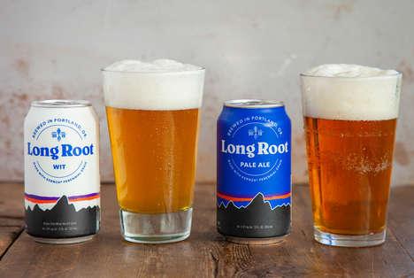 Branded Sustainability-Focused Beers