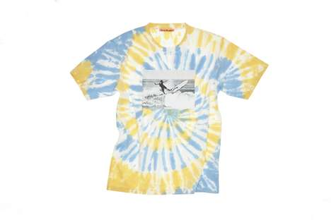 Surf-Inspired Tie Dye Tees