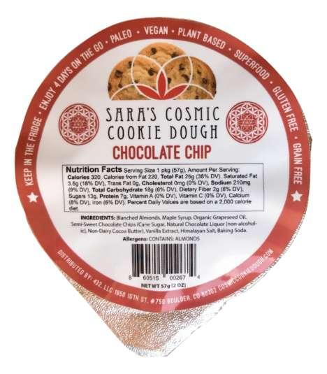 Portable Cookie Dough Cups