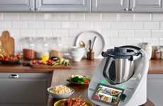 Holistic Meal Preparation Appliances - The Thermomix TM6 Prepares Foods in Many Different Ways