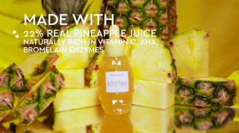 Brightening Pineapple Serums