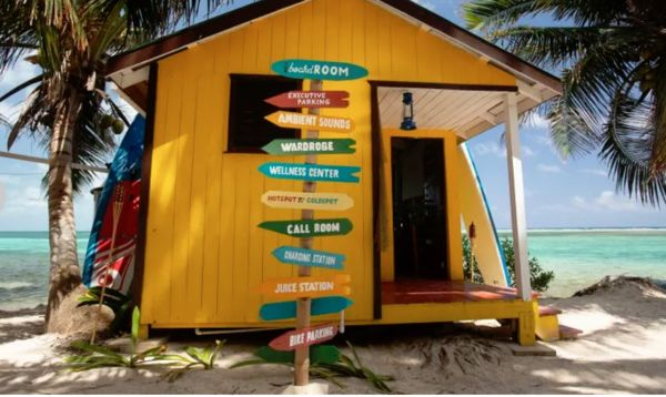 Remote Bungalow Offices - The Belize Tourism Board Arranges a Dreamy Alternative Co-Working Space