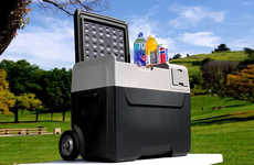 App-Enabled Outdoor Coolers - The 'LiONCooler' Eliminates the Need for Ice or Water