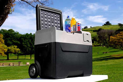 App-Enabled Outdoor Coolers