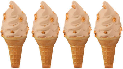 Fried Chicken Ice Creams - KFC Will Offer Kentucky Fried Chicken-Flavored Ice Cream This Summer