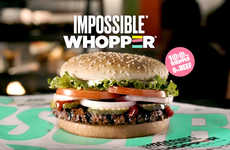 Flame-Grilled Vegan Patties - Burger King's New Impossible Whopper Puts a Twist on a Classic