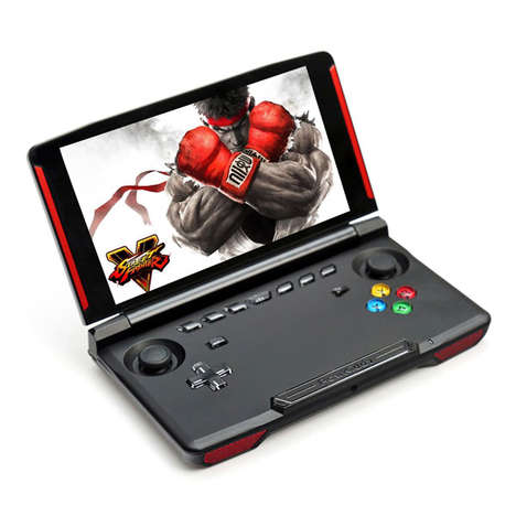 HD Android-Powered Portable Consoles - The POWKIDDY X18 Portable Handheld Console is Feature-Rich