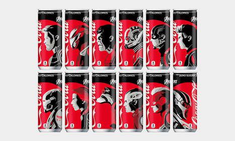 Superhero-Branded Sodas