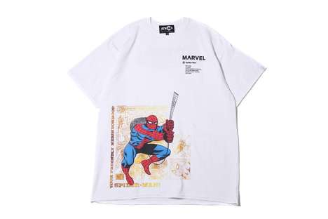 atmos LAB Joins Marvel For Tees Adorned with Marvel Characters