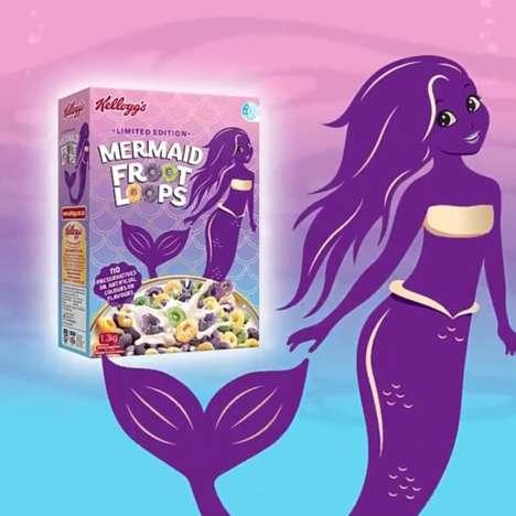 Sparkly Sea Creature Cereals
