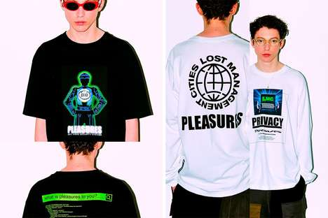 Internet-Themed Graphic Streetwear