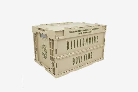 Streetwear Branded Crates