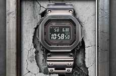 Ion-Plated Digital Watches