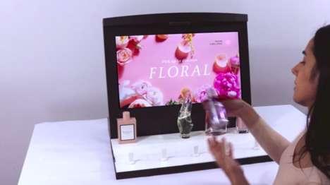 Interactive Fragrance Displays