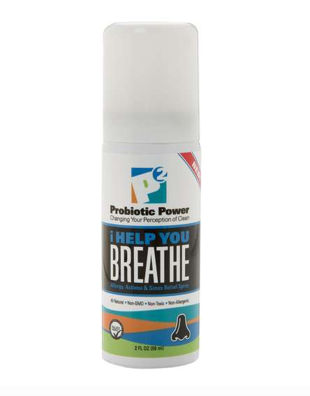 Travel-Sized Probiotic Relief Sprays