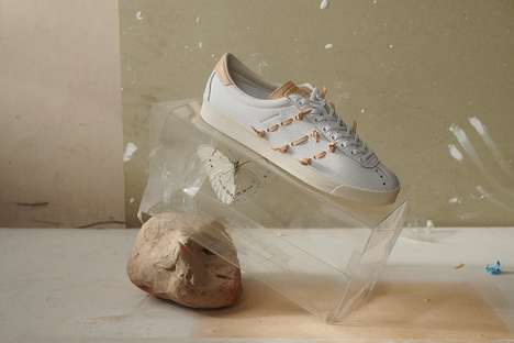 Veg-Tanned Casual Leather Sneakers - adidas Originals and Hender Scheme Partner for a Slick Collab