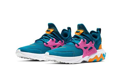 Vibrantly Accented Performance Runners
