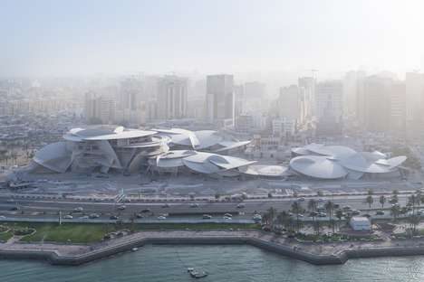Rose-Inspired Qatar Museum Designs - Jean Nouvel Looks for Inspiration from the Desert Rose