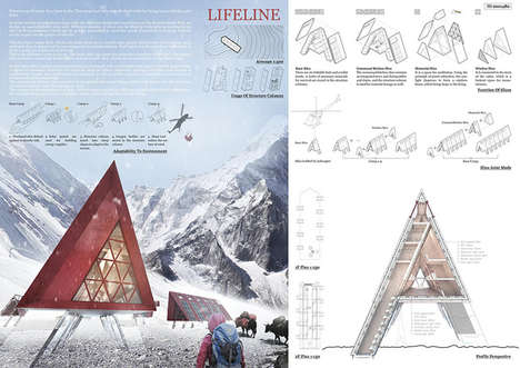 Emergency Mountaineer Protection Structures