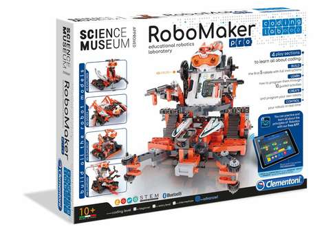 Customizable Coding Robot Kits - The Clementoni RoboMaker Pro Kit is for Makers 10 and Up