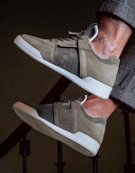 Scandinavian Elk Hide Sneakers