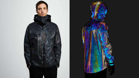Cephalopod-Inspired Outerwear
