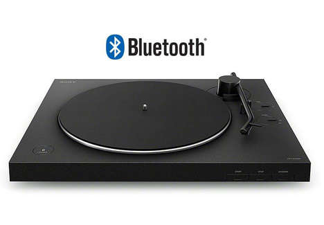 Automated Vinyl Record Players
