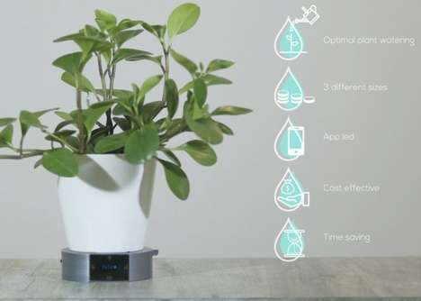 AI-Enabled Greenery Planters
