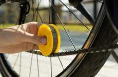 Oil-Saving Bike Chain Lubricators