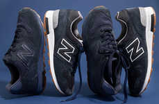 Melancholic 90s Nostalgia Sneakers - The New Balance x J. Crew 1400 Sneakers Come in Two Colors