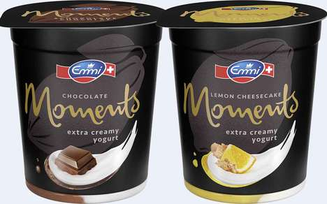 Indulgent High-Fat Yogurts