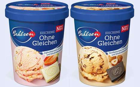 Confectionery-Infused Ice Creams