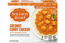 Globally-Inspired Frozen Meals - The New Saffron Road Frozen Entrées are Traditionally Prepared