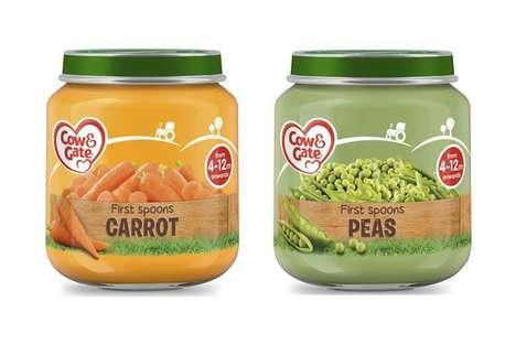 Single-Flavor Baby Foods