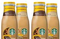 Prepackaged Non-Dairy Coffees - The Starbucks Bottled Frappuccino with Almond Milk Line is Tasty
