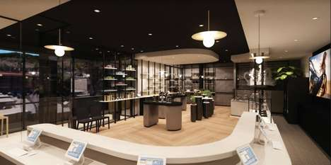 Luxury Cannabis Boutiques