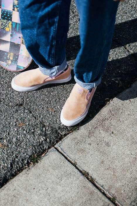 Elegant Rose Slip-On Shoes